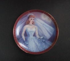 Danbury Mint High Fashion Barbie Bride-to-Be Plate, no box, no COA - $8.99