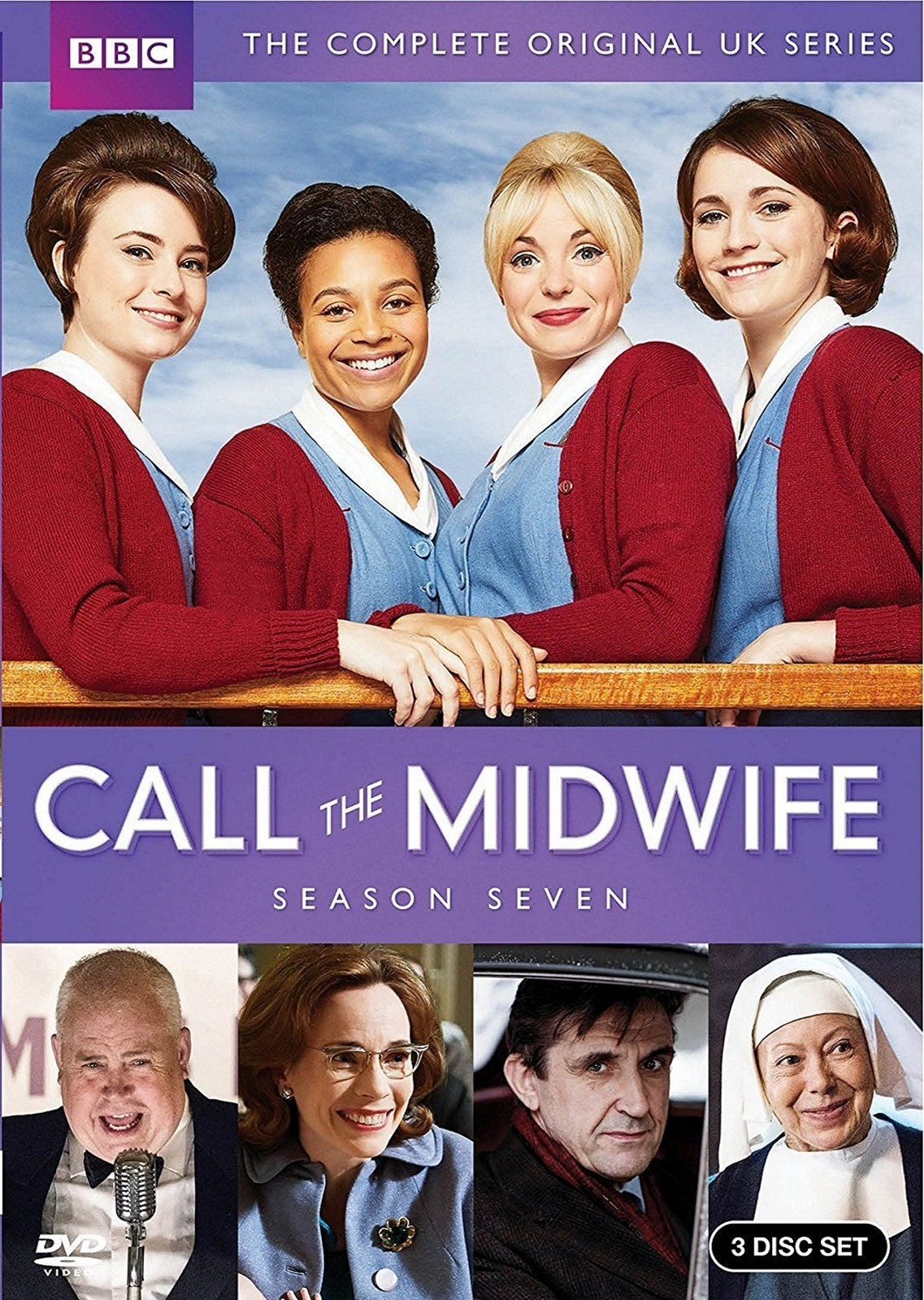 Call the midwife complete seventh season 7 seven  dvd  2018  3 disc set