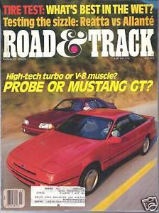 Primary image for Road & Track  MagazineMarch 1988