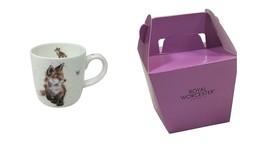 En Caja Wrendale con Licencia Oficial Fox Fino Porcelana China Taza - $17.47