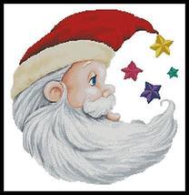 Santa Star christmas cross stitch chart Artecy Cross Stitch Chart - $14.40