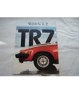 1979 Triumph TR7 Owners Sales Brochure Parts Service   - $24.99