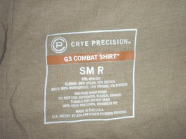 US Army Multicam (TM) Combat Shirt size Small-Reg; UNISSUED Crye Precision - $50.00