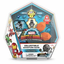 NEW Marvel BattleWorld Mega Pack Collectible Adventure Game, 6 Heroes In... - $46.54