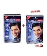2 X Schwarzkopf Men Perfect    Professional  Hair Color Gel -Natural Bla... - $32.57