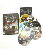 Medal of Honor 10th Anniversary for PC Computer Game 2008 *Missing Bonus CD - $16.91