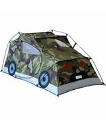 Boys Camo Play Twin Tent Soldier Humvee Hum Vee Military Truck Adventure... - $83.06