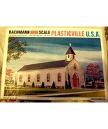HO Backmann Plasticville -  Church - $15.00