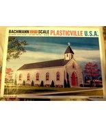 HO Backmann Plasticville -  Church - $5.95