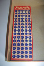 Vintage Bingo-Matic Transogram Game in Box 5984 image 4
