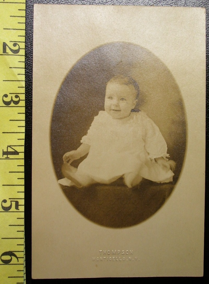 Photo post card cute baby  1