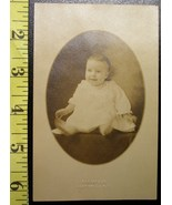 Photo Post Card Very Cute Baby Boy Early 1900`S Wow! - $4.00