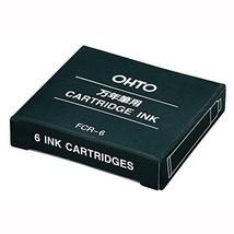 OHTO-stationery-ink fountain pen cartridge FCR-6BB10P blue black - $25.64
