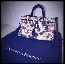 Disney Dooney And Bourke Cruise Line Mickey Mouse Handbag - $197.99