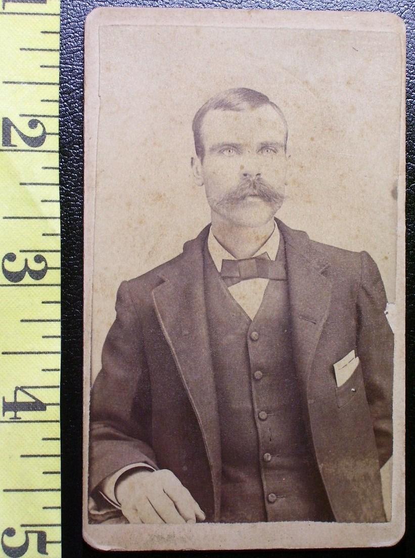 Cdv bushy moustached man  1