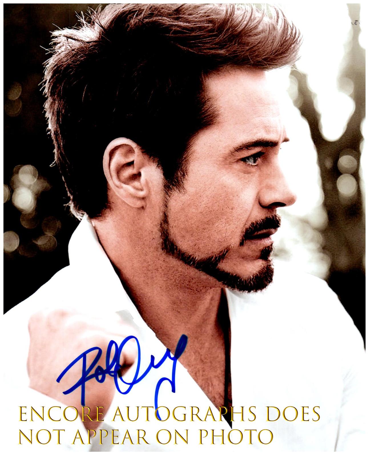 Robert Downey JR signed Autographed w//COA Autograph
