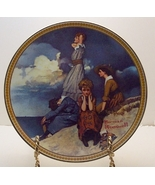Waiting on the Shore-Norman Rockwell Plate - $29.99