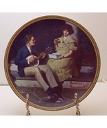 Pondering on the Porch-Norman Rockwell Plate - $29.99