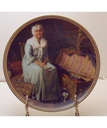 Reminiscing in the Quiet-Norman Rockwell Plate - $29.99