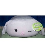 """Squishmallows  STACKABLE Grey BLAKE 12""""L New - $25.88"""