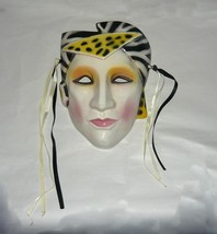 Art Deco Ceramic Wall Mask of someone you know - $24.88