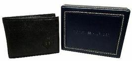 Tommy Hilfiger Men's Premium Leather Credit Card Wallet Slim Black 4707-01 image 6