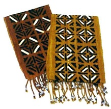 Mudcloth Scarf or Sash Made in Mali, X-tra Wide - $23.89 CAD