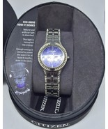 Citizen Eco-Drive Women's FE2060-53E Silhouette Crystal Watch *READ* Pre... - $52.25