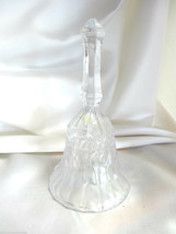 Fostoria Glass Crystal Bell Original  Made in USA - $22.00