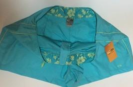 Champion Activewear Shorts Colorwave Aqua Sz XL Velcro Drawstring image 3