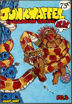 Junkwaffel #3, vaughn Bode, Print Mint 1972, underground comix, 2nd prin... - $14.25