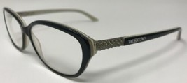 VALENTINO Designer Eyeglasses Frame Italy V5717/U 52-14-135 Polished Bla... - $61.75