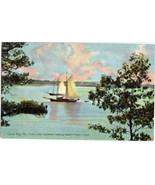 Vintage Casco Bay Peaks Island Maine Postcard - $3.50
