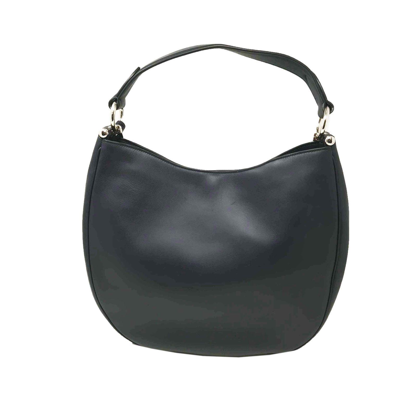 b03f87f1f7 ... Coach 36026 Nomad Hobo In Glovetan Leather Navy Blue Ladies Bag ...