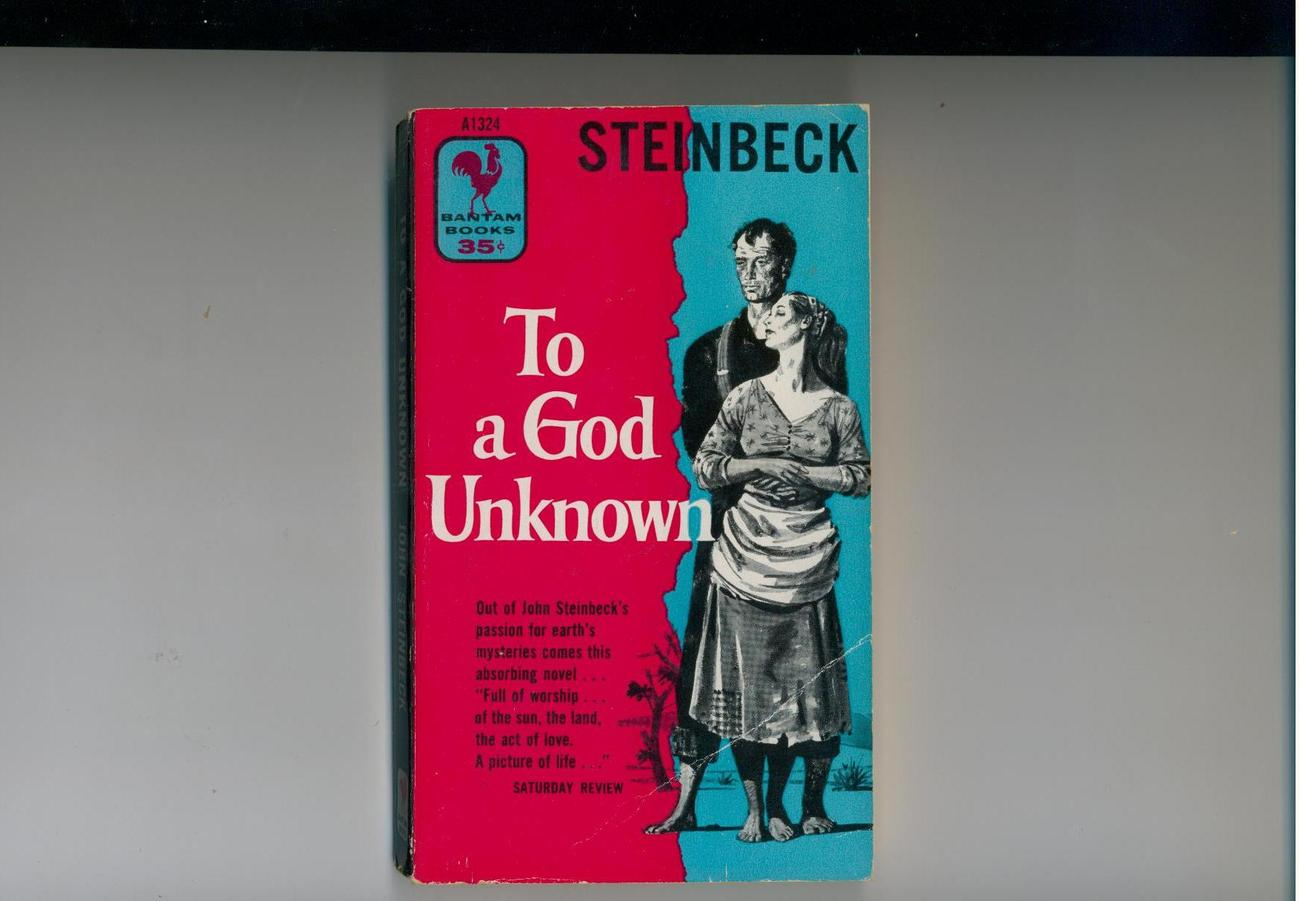 Steinbeck - TO A GOD UNKNOWN - 1955 edition