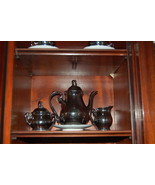 JKW Josef Kuba Wiesau Coffee Set Silver over Po... - $450.00