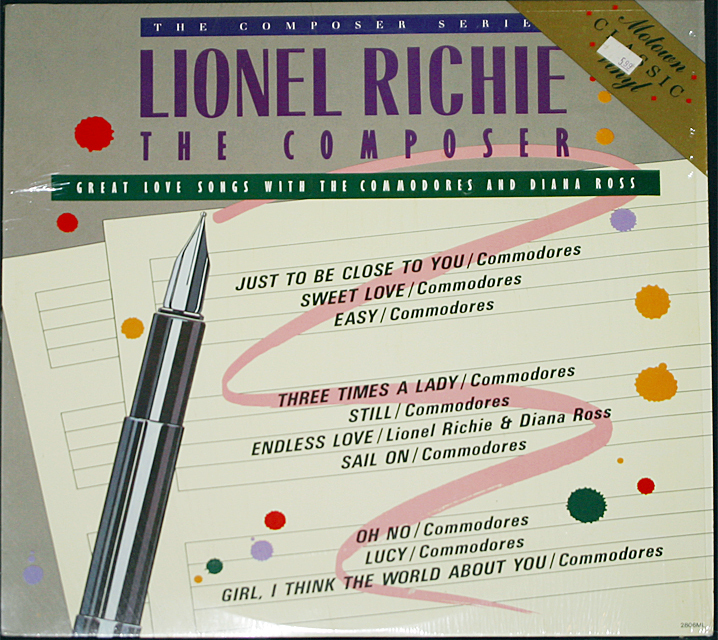 Lionel richie  the composer cover