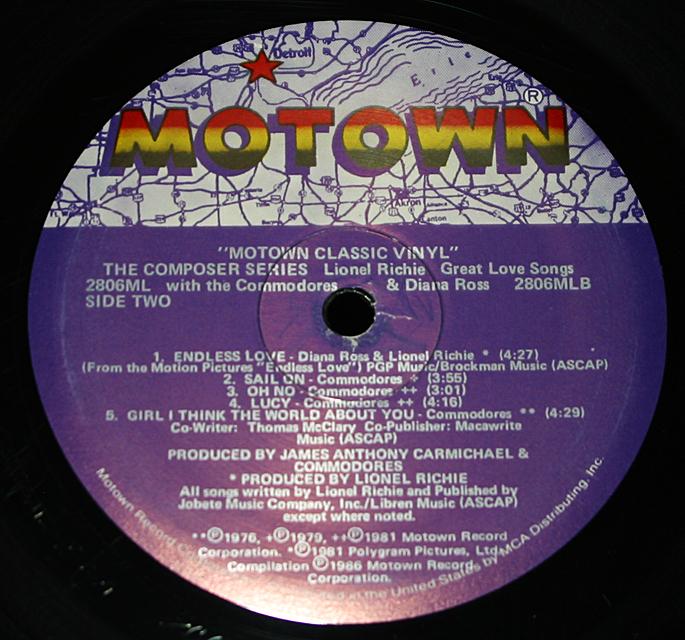 """Lionel Richie  """"The Composer""""   LP"""
