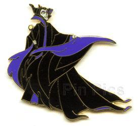 Disney Maleficent with Flowing Cape Pin/Pins