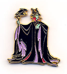 Disney Maleficent & Diablo full body Pin/Pins
