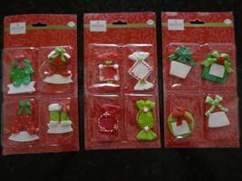 Set Lot 12 HOLIDAY INSPIRATIONS CHRISTMAS Ornaments Gift Tags Hang Jo-An... - $7.99