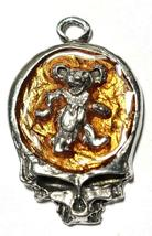 Dancing Bear Skull Fine Pewter Pendant Approx. 1 5/8 inches tall image 8