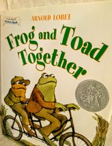 Frog and Toad Together Book Hardcover Arnold Lobel I Can Read Picture Bo... - $3.71