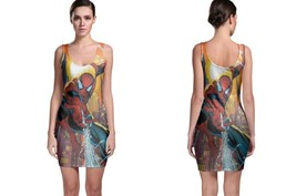 Spiderman bodycon dress thumb200