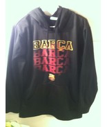 OFFICIAL FCB HOODIE---MENS SIZE S---BARCA--BARCELONA--SOCCER---SHIPS FRE... - $24.23