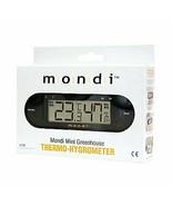 Mondi Mini Greenhouse Thermo-Hygrometer Environment Food Safety And Pet ... - $35.82
