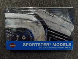 2012 Harley Davidson Sportster Propietario Owner's Manual Fábrica Nuevo - $54.01