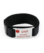 DNR and DO NOT RESUSCITATE Medical Id Alert Bracelet. Free Emergency Card! - $19.99