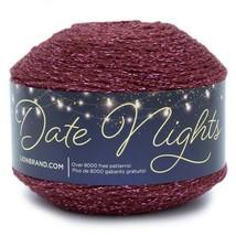 Lion Brand Date Nights Yarn in Star Ruby, Medium 4 Weight