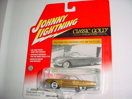 JOHNNY LIGHTNING 1961 FORD THUNDERBIRD INDY 500 REAL RUBBER TIRES FREE U... - $14.01